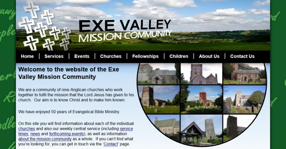 Our church website portfolio doive designs for Mission exe